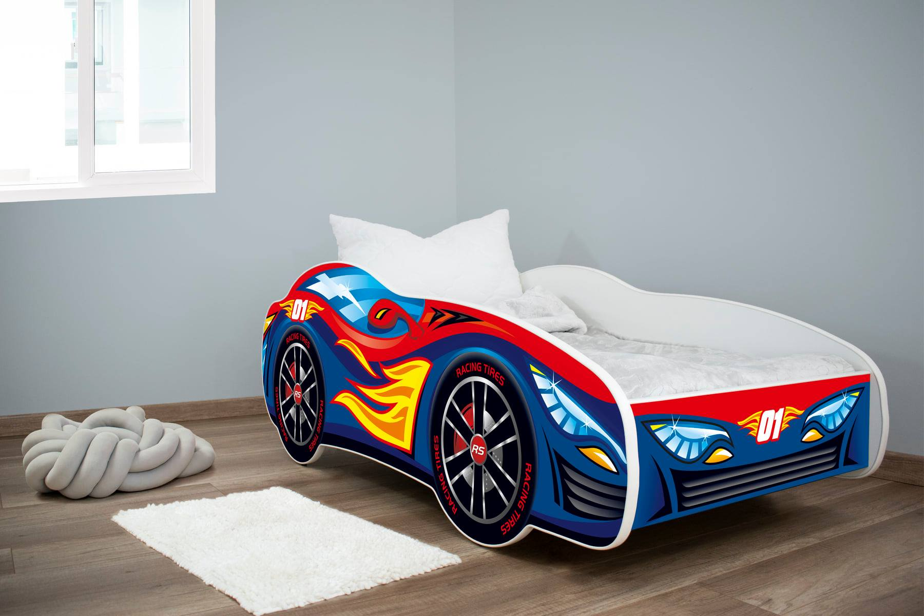 Dečiji krevet Red Blue Car