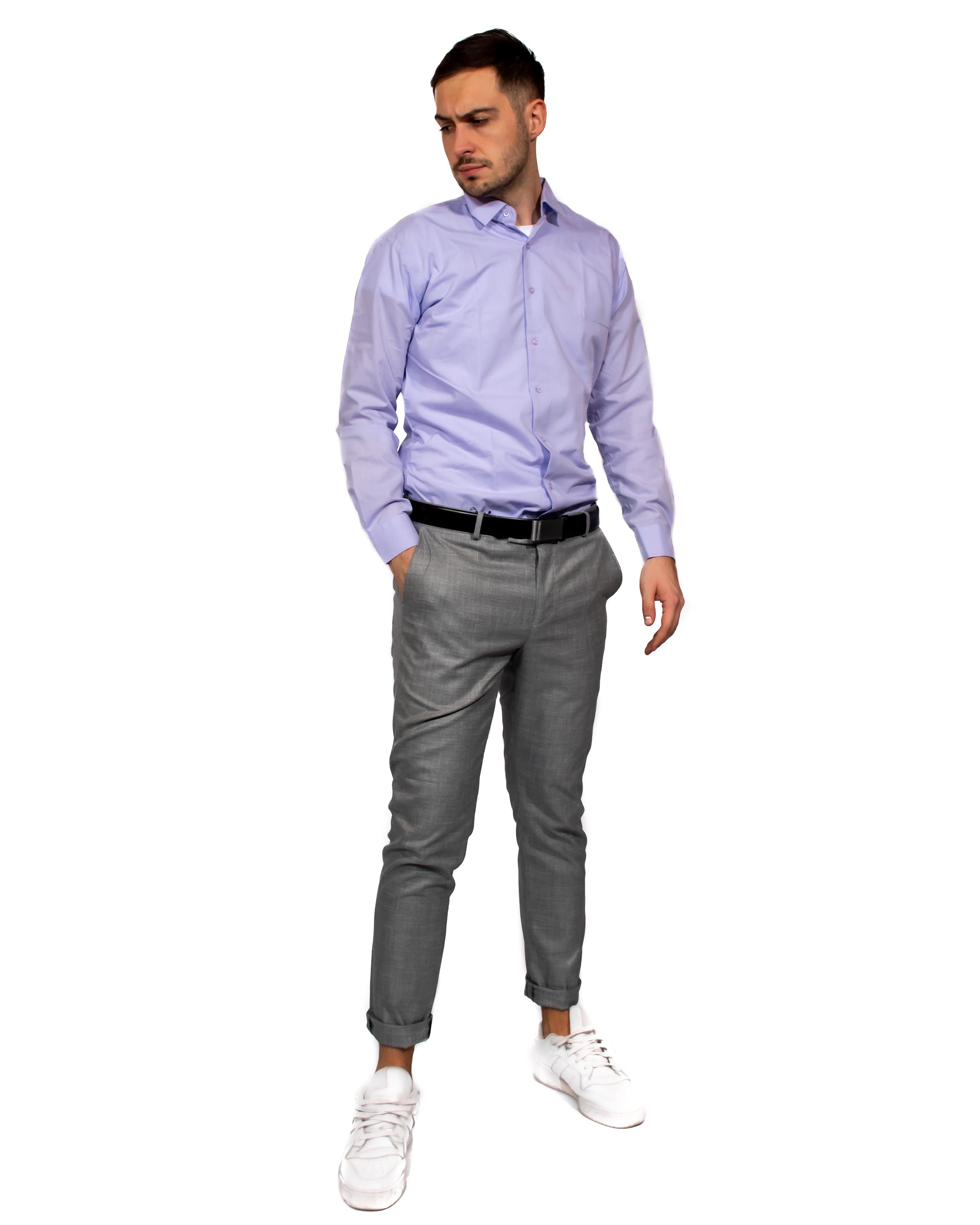 Muška košulja - svetlo plava